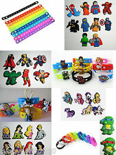 SHOE CHARMS FIT SILICONE WRISTBANDS / CROC SHOES PARTY FAVOURS CUPCAKE TOPPERS