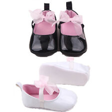 NEW Baby Girls Infant Patent Soft Leather Shoes Perwalk Toddler Soft Soles Shoes