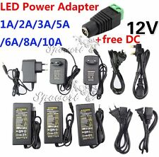 AU Switching Power Supply Adapter Charger for Led Strip, CCTV 5.5x2.1mm DC 12V