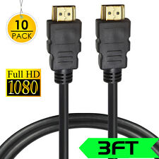 HDMI Cable 1M V1.4 3D High Speed with Ethernet HEC Full HD 1080P Gold Plated
