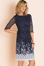 NEW EziBuy Grace Hill Printed Lace Dress