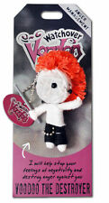 WATCHOVER VOODOO DOLLS *THE DESTROYER* KEYRING KEYCHAIN BAG CHARM NEW 10801-0052