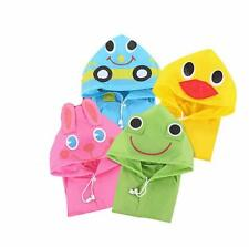 Cute Baby Cartoon Funny Rainwear Raincoat Kids Waterproof Children