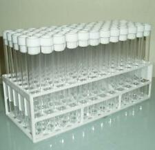 Plastic test tubes with tops and tray.Shooter tubes,60 x150x16mm tubes & Tops