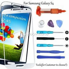Front Outer Screen Touch Glass Lens Replacement For Samsung S4 Tools / UV Glue