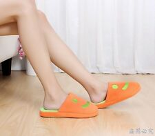 Soft Adorable Warm Smile Face Indoor Anti-slip Slippers for Men/Women