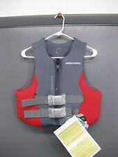NEW NON-CURRENT SEA DOO LADIES AIRFLOW PFD LIFE JACKET PWC RED/GRAY 287187**07