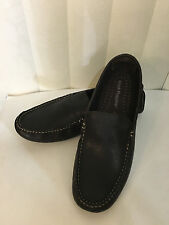 Hush Puppies Manaco Slip On_MT  Brown Leather Loafers Size 7.5-10.5 M