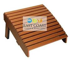 CLEARANCE Deluxe Outer Banks Poly Wood Folding Adirondack Foot Rest