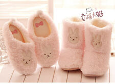 Soft Cute Warm Bunny Indoor Anti-slip Slippers boot shoes for Men/Women
