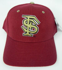 FLORIDA STATE ST. SEMINOLES MAROON NCAA VINTAGE FITTED ZEPHYR DH CAP HAT NWT!