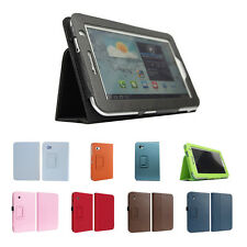 Leather Case for 7-Inch Samsung Galaxy Tab 2 P3100/P3110 AD