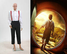 The Hobbit Lord of the Rings Bilbo Baggins Costume Cosplay Halloween Party