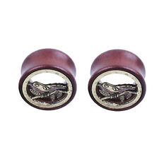 Body Piercing Stretching Ring Bird Earring Tunnel Wooden Ear Gauges Plug Jewelry