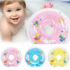 Inflatable Baby Swimming Neck Safety Bath Swim Pool Beach Float Ring