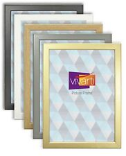 Thin Picture Photo Poster Frame Black Ash Beech Cherry Maple Silver Gold