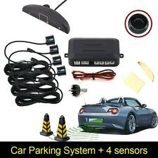 4 Parking Sensors LED Display Car Auto Backup Reverse Radar System Alarm Kit ESP