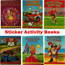 Sticker Activity Books - Birthday Party Loot Bag Fillers - FREE DELIVERY