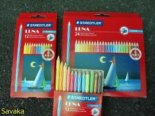 Genuine STAEDTLER Luna Coloured Pencils Children Art Drawing Craft Set 12-48