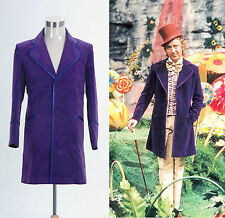 Willy Wonka and the Chocolate Factory 1971 Jacket Coat Costume Cosplay Halloween