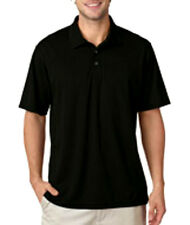 UltraClub Men's Cool & Dry Sport Short Sleeve Moisture Wicking Polo Shirt New