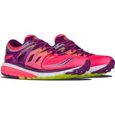 Saucony Women Athletic Shoes Zealot Iso 2 Running S10314-2 Coral/purple
