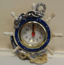 ships wheel clocks  NOW REDUCED!!!!!!