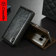 Genuine Leather Wallet Case Flip Stand Case for Samsung Glaxy A3 / Galaxy A7