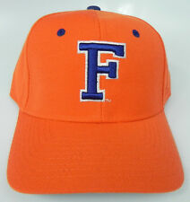 FLORIDA GATORS ORANGE NCAA VINTAGE FITTED SIZED ZEPHYR DH CAP HAT NWT!