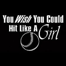 Hit Like A Girl Softball T-Shirt All Sizes And Colors (186)