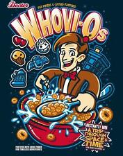 Doctor Who Cereal with Different Icons Parody Satire Teefury Ladies Shirt NEW