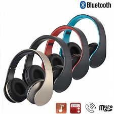4 in1 Wireless Bluetooth Foldable Headset Stereo Earphone MP3 FM TF Headphone KY