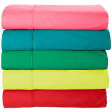 "New 800-TC 100% Cotton Solid 4-PCs Sheet Set 23"" Deep Pocket Choose Bedding Size"