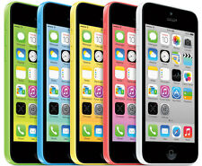 APPLE IPHONE 5C - 8GB (Unlocked GSM) - White Blue Green Pink Yellow BRAND NEW !!