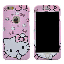 Hello Kitty Case Bumper Frame Pink Sweet Bow Cover Full Protection Polka Dots
