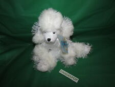 Webkinz White Poodle Dog HM014 With New Sealed Code Tag