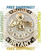 Kobe Bryant Mamba Los Angeles Lakers Retirement Ring - FREE Expedited Shipping