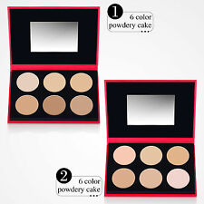 Makeup Concealer Highlight Pressed Powder Foundation Palette Baked Face powder