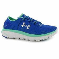 Under Armour Speedform Fortis Running Shoes Womens Blue Run Trainers Sneakers