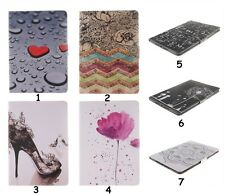 For iPad Samsung Floral Heart Smart Cover Magnetic Folio Leather Slim Stand Case