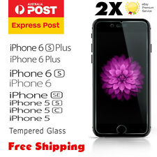 Tempered Glass/Film Screen Protector for Apple iPhone 6s plus /6 Plus 5s 5c 5 SE