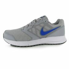 Nike Downshifter Running Shoes Mens Grey/Blue Fitness Sports Trainers Sneakers