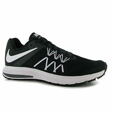 Nike Zoom Winflo 3 Running Shoes Mens Black/White Fitness Trainers Sneakers