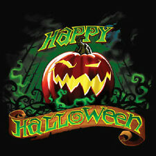HAPPY HALLOWEEN T-SHIRT ALL SIZES & COLORS NEW