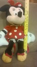 Minnie mouse plush backpack doll figure stuffed toy bag Disney 14""
