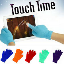 Pop Touch Screen Gloves Smartphone Texting Stretch Adult One Size Winter Knit