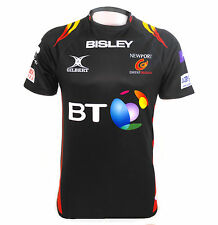 Gilbert Newport Gwent Dragons 16/17 Replica Home Jersey Adults