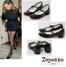 Repetto-Mary Jane Rose- Black Patent
