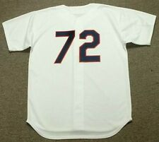 CARLTON FISK Chicago White Sox 1989 Majestic Cooperstown Home Baseball Jersey