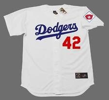 JACKIE ROBINSON Brooklyn Dodgers 1951 Majestic Cooperstown Home Baseball Jersey